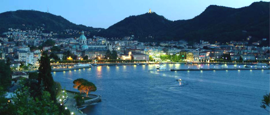 bed & breakfast Villa Olmo - Como Nocturnal View