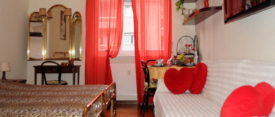 bed & breakfast villa olmo - rooms
